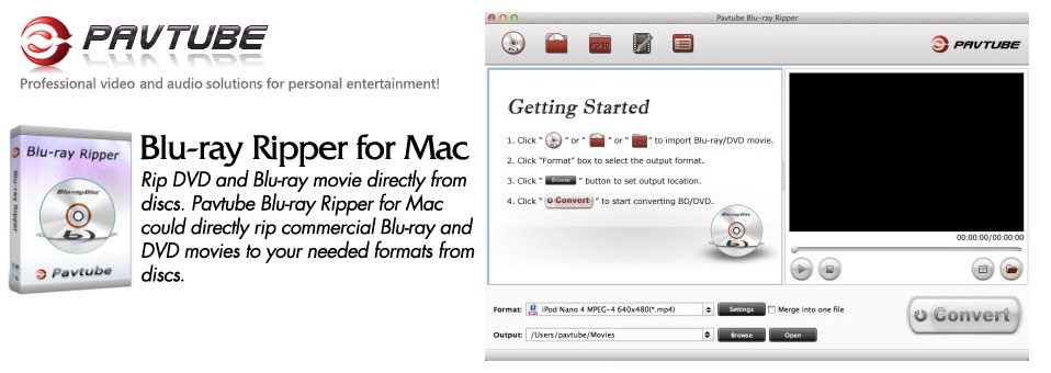 Pavtube Blu-ray Ripper for Mac 3.21