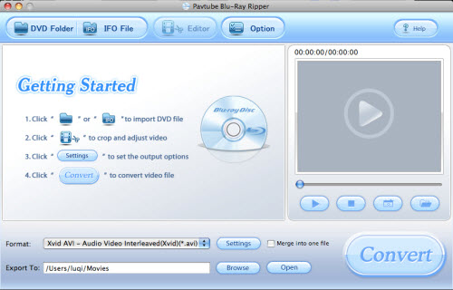 Pavtube Blu-ray Ripper for Mac 3.6.0