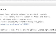 Apple releases iTunes update with Wish List, language enhancements